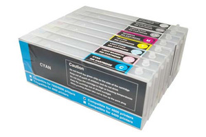 Empty Refillable Cartridges for Epson 4880, 4800 + chip
